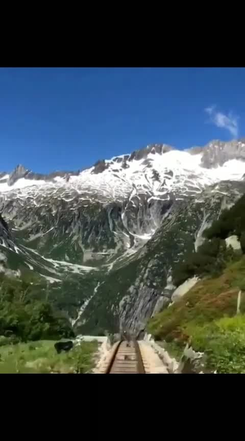 #travelling #awesome-travel #travel #train #mountains