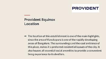 Apartments in Kanakapura Road Provident Equinox 2019 launch #ApartmentsinBangalore #ProvidentEquinox #providentHouisng #realEstate #FlatsinBangalore #prelaunchApartments  Visit : http://www.providentequinox2.co.in/price.html