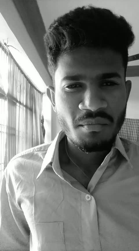 #vip#raghuvaranbtech #black-and-white #simplelook #littlesmile#roposo#roposo-star