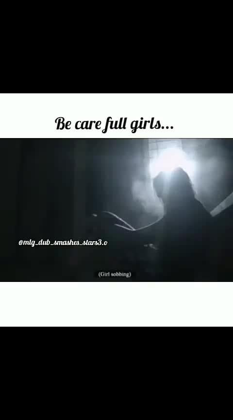 Be careful Girl's. Think about the consequences before you do #roposomotivationvideo #roposomotivationalquotes #motivationalvideo #spread-awareness