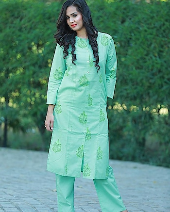 Glam Up Your Party in This Hot Session with Light Dress. Buy This Amazing Partywear Pista Green Kurta Set @ 999 Only. Shop Now- http://tiny.cc/bqdt5y #women-style #onlineshopping #womensfashion #indianfashion  #indianfashionblogger