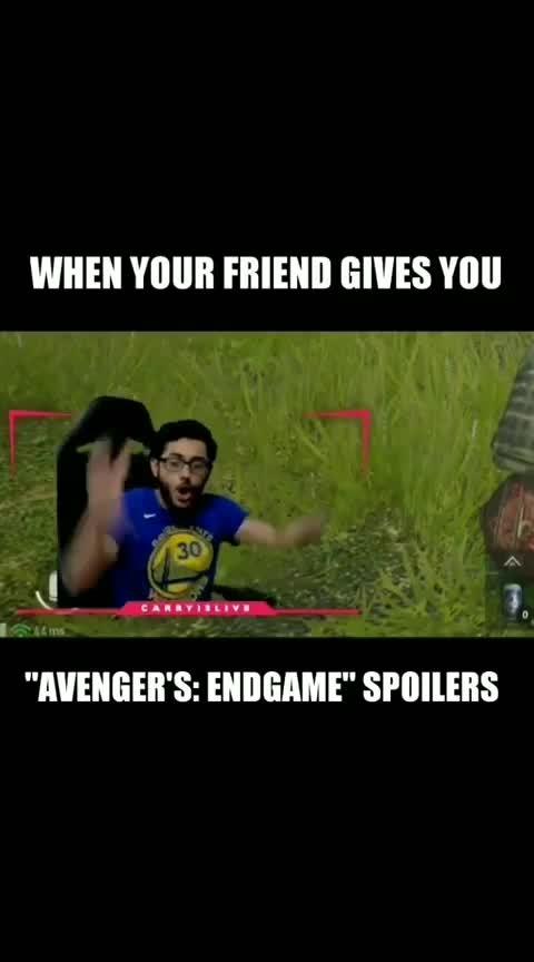 #carryminati #avengers #endgame #spoiler #nospoilers #fuck #savage