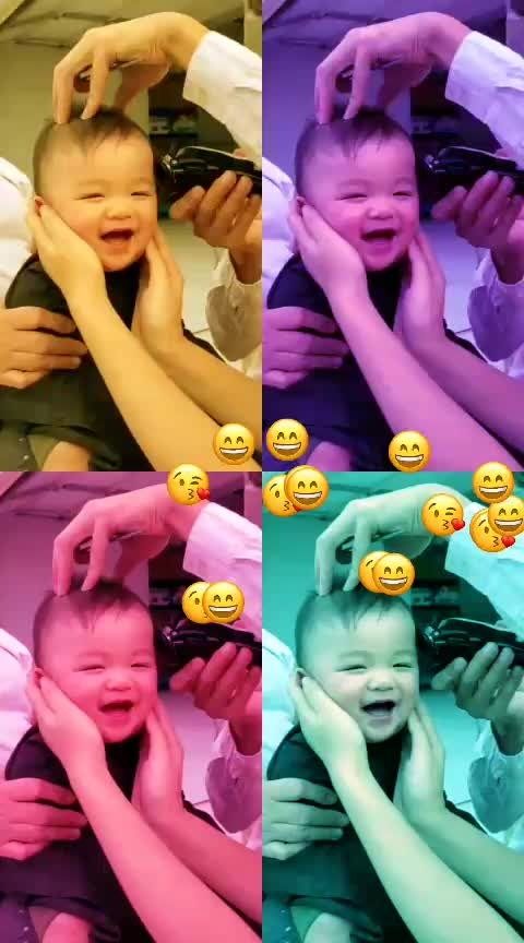 #cute-baby #laughing 😀😀😍