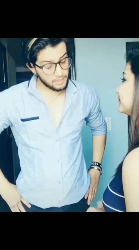 😂😂 #hahahahaha #funny #roposo-comedy #drmashoorgulati #couplegoals