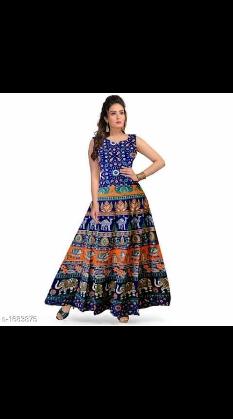 #cottonkurtis #summertops Cost is 400 Siya Alluring Cotton Women's Dresses Vol 3  Fabric: Cotton Sleeves: Sleeves Are Attached Inside Size: Up 36 in To 44 in ( Free Size ) Length: Up To 49 in Type: Stitched Description: It has 1 Piece of Dress Work: Printed Dispatch: 2 - 3 Days Cash on delivery is available Return and replacement also available Intrested people can call or wats app to 8367373114
