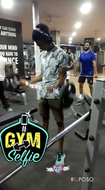 thirumalesh #bae #gymselfie