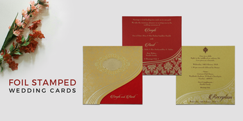 Make a bold start for your #wedding day by selecting from the most #gorgeous collection of #foil stamped wedding #invitations from #123WeddingCards.  Lovely Foil #Printing on luxurious #papers.  Order your sample now: https://www.123weddingcards.com/foil-stamped-wedding-invitations  #foilstamping #foilprinting #foilstampedinvitations #foilpressedinvites #weddinginvitationcards #onlineweddingcards #stationery #samples #invitationdesigns #marriagecards #shaadicards #weddinginvitations