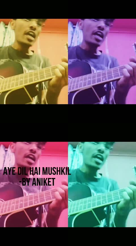 Aye Dil hai mushkil Title song by Aniket #celebratinganushka #roposolove  #ropo #roposostar  #song  #drama #creativespace  #roposo  #ropo-love #roposo-beats #trendeing #ropsocontests  #weeklyhighlights #risingstaronroposo #pune #nashik#happybirthdayanushkasharma #virushka #ranbeerkapoor #aishwaryaraibachchan
