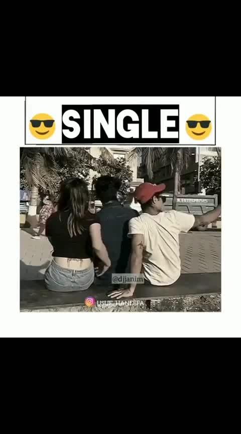 #habits of singles ✌✌