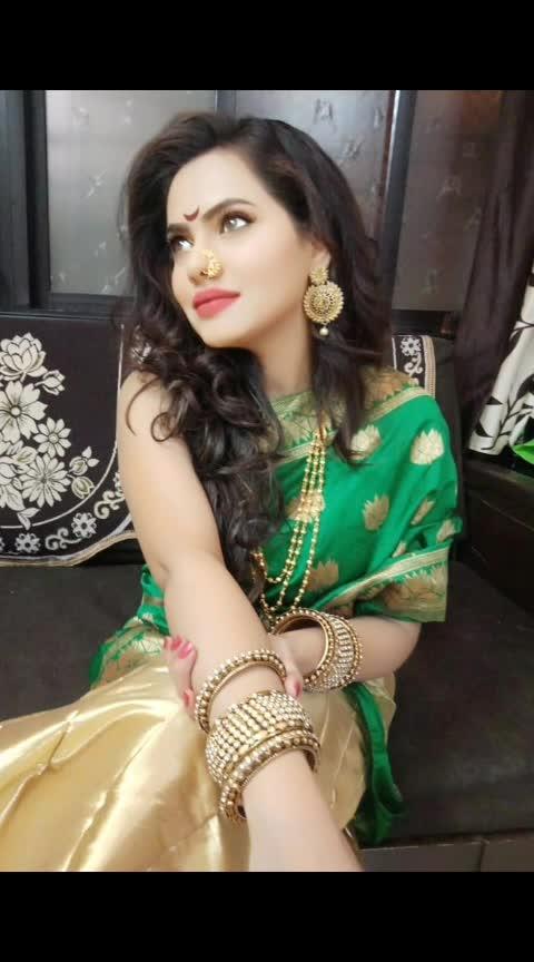 ''गर्व आहे मला, मी मराठी असल्याचा''🙏💞 #mymaharashtra #1may #maharastradin #marathimulgi #begoodtopeople #lovelikenshare #keeploveing #beyou #influencer #actress #roposomarathi