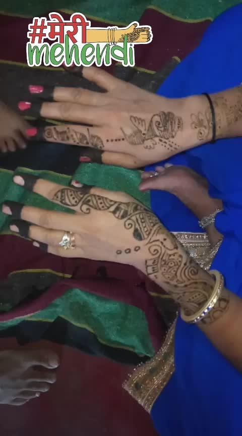 #latest-mehndi #indian-mehndi #mehendiceremony #mehendionhands #ropso-star #newrisingstar #roposoness