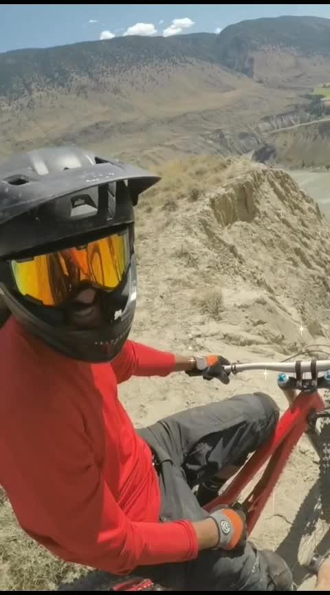 #riding on mountain😱🤪🚴♀️#bicycleride #mountainbike #stunting #wining 🏆#swag #gabru