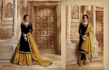 Here Is A Beautiful Set Of Palazzo can go with chudidar Too ♥ Price:- 2700/- For Order/Price What-app us (+91) 8097909000 * * * * #salwar #salwarsuits #dress #dresses #longsuits #suitsonline #embroidered #onlinefloralsuit #floral #fashion #style #palazzosuits #shararastylesuits #classy #designer #partywear #partyweargown #exclusive