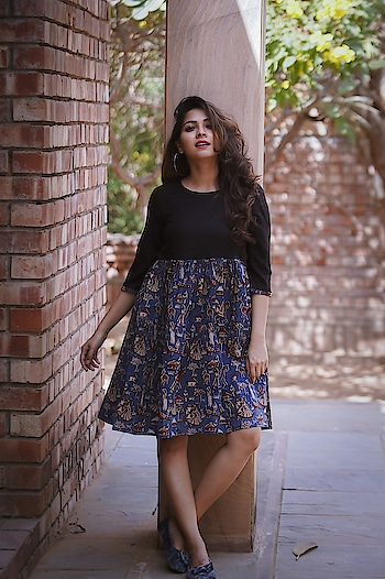 Fashion is not something that exists in dresses only. Time flies so quick. I just kind of opened up and said, 'I feel like a rag doll. A woman has no need to be perfect or even beautiful to wear my dresses. Look Cool & Clam in This season with KALAMKARI MIDI DRESS.Buy & Wear It- https://bit.ly/2D3GxJ7   #women-fashion #women-style #womensshoppingonline  #roposo-style   #fasjionblogger #partywear #dress  #dress-up #sportswear  #women-clothing #women-apparels #womens-wear