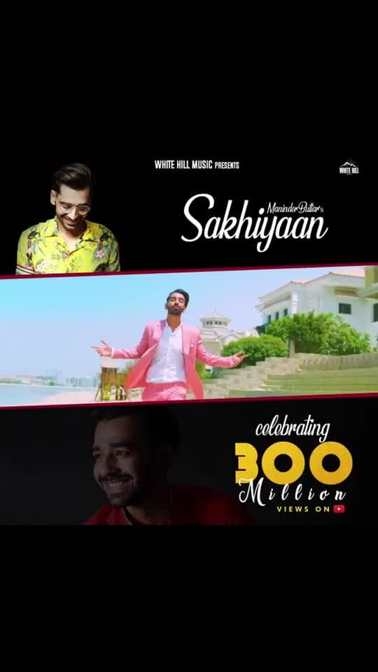 "Woohooo 🌟🌟🌟 finally 300 MILLION VIEWS ON SAKHIYAAN 🤩🤩🤩🌟🌟🌟🌟I don't know from where should I start Thanking You ... 🙏🙏You guys have given Me and 'SAKHIYAAN ' so much of love... ♥️♥️It has only been possible because of your everlasting Affection and Support ...your  appreciation, Love has given me a new identity; ""THE SAKHIYAAN GIRL "" ♥️♥️♥️which I am totally in love with ... thank you so so so much .. keep Supporting keep showering your love 🙏 :  Kudos to the whole team 😍😍 @whitehillmusic @manindarbuttar @mixsingh @robbysinghdp @babbu11111 🌟🌟🥳🥳 : Tusi ess tarah hi Pyaar dende Raho 🙏🙏🙏🙏 : : #sakhiyaan #sakhiyaansong #300m #300million #300millionviews #300millionviewsonyoutube #yay #thankyousomuch all #myfans #keeploving #keepsupporting #pollywood #pollywoodsong #instantpollywood #pollywoodfame #sakhiyaangirl #pollywoodartists #maninderbuttar #whitehillmusic #nehamalik #model #actor #blogger #instagram #instagood #instafollow #instavideo"
