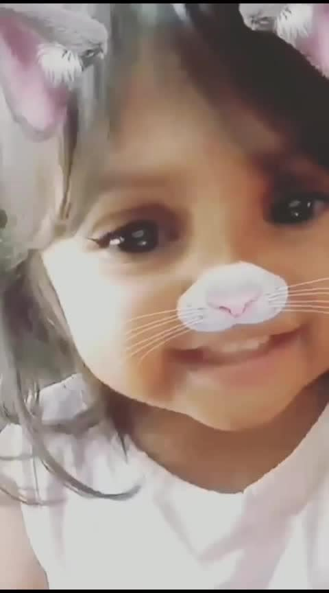 cute babiegrl #babygirl #barbiedoll #so-sweet  #lovelybaby #catoftheday #catfilter #cute_baby
