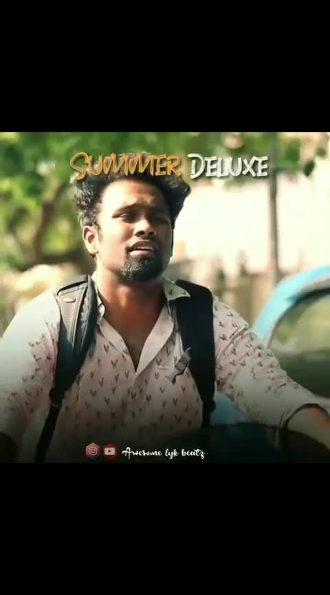 Summer pavangal 😂 #welcome-summer #koluthipodu #satti #erumasaani #superdeluxe #roposo-rising-star-rapsong-roposo #comedychannel