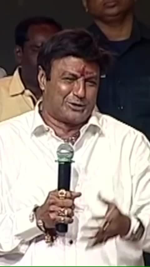 #balakrishna funny video