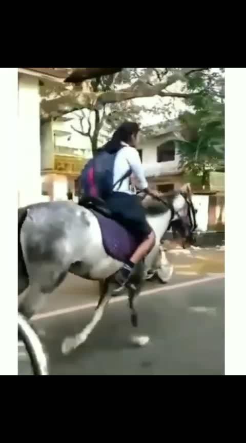 enti school ki ila kuda velthara  #school-time-comdey #schools #schoolmemories #positive-attitude #supervideos #horseriding #horses #girlpower #girlpowerrudramadevi #followme #followmeformoreupdates #followmeforfollowback #followroposo #followmeonroposo