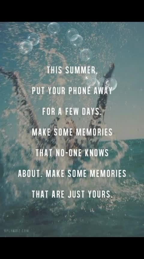 #summer #holidayseason #memories