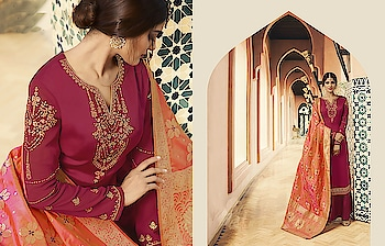 Shine Bright In This Designer Semi-Stitched Suit In Attractive Shades...♥ Price:- 2644/- For Similar Visit 👉 https://bit.ly/2ILiWRZ For Order/Price What-app us (+91) 8097909000 * * * * #salwar #salwarsuits #dress #dresses #longsuits #suitsonline #embroidered #onlinefloralsuit #floral #fashion #style #palazzosuits #shararastylesuits #classy #designer #partywear #partyweargown #exclusive