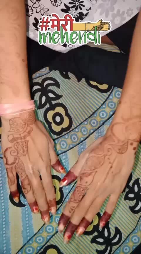 #latest-mehndi #ropso-star #roposoness #merimehendi #ropsofollow #mehndistain #indian-mehndi