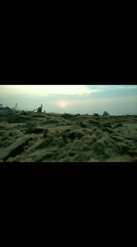 #sunrise #beach #featureme #foryou #roposo
