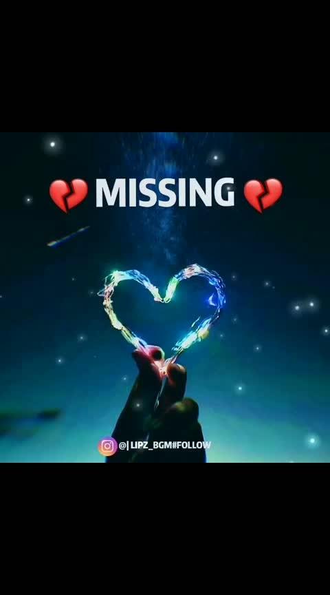 #missingyou