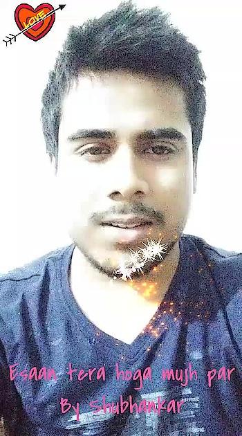 #ehsaantera #song #bollywood #singer #shubhankar #roposo #trendinglive