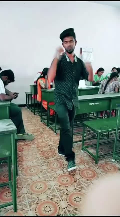 #classroomcomedyscene  #danceing #roposo-tamil