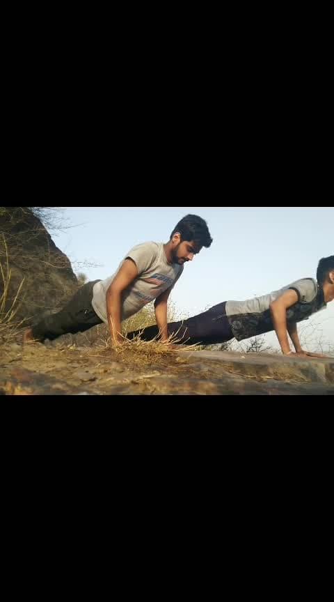 #haryana #haryanvi #pushups #gym #hills #adventure #bhai #time #2k19 #muscles #desi #bhaibhai