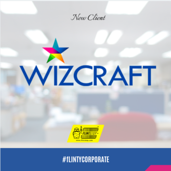 Having crafted experiences across the world, Wizcraft brings to the table an unparalleled global understanding of technology and infrastructure.  Wizcraft is now our #happyflintstopper   #happy #flinstop #quirky #corporate #gifts #event #eventmanagement #global #happycustomer
