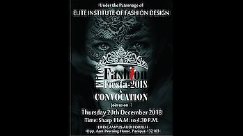 Elite Fashion Fiesta 2018 | Fashion Show in Panipat | Exclusive (part 2)  Here we have the magical moments capture of Elite Fashion Fiesta – 2018