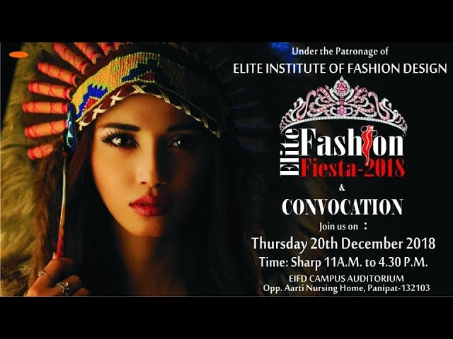 Elite Fashion Fiesta 2018 | Fashion Show in Panipat | Exclusive (part 1)  Here we have the magical moments capture of Elite Fashion Fiesta – 2018