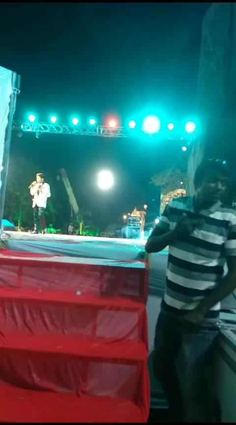 event part 2 #crowd #singinglove #singers #stageshow #ahemdabaddiaries #firstliveevent