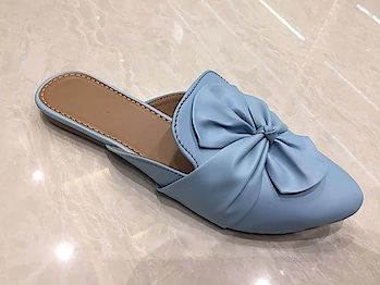 @ ₹550 Click here to buy➡️https://www.shoesetc.in/product/womens-footwear/mules/womens-bow-style-blue-green-grey-flat-mules-slippers/  Women's Bow Style Blue Flat Mules Slippers  Visit link in Bio to Buy  Premium Quality Non-Slip PU sole  Available in all Blue, Green & Grey sizes  Cash on delivery available across India COD charges +₹60 Shipping ₹ 50 - ₹ 100 as per delivery location  Hurry Limited Stock!! #womensshoes #womenwear #womenfashions #womenshoppingonline #Flatslippers #flatmules #bluemules #greenmules #greymules#bridalmakeup #womensfootwear #shoesetc #shoelove #shopping #shoppingonline #shophandmade #shopaholic #juttis #footwearlove