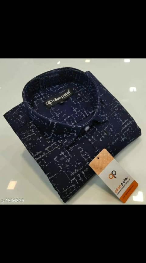 Catalog Name: *Allure Stylish Cotton Printed Men's Shirts Vol 5*  Fabric: Cotton  Sleeves: Sleeves Are Included  Size:  M, L , XL, XXL (Refer Size Chart For Details)  Length: Refer Size Chart   Type: Stitched  Description: It Has 1 Piece Of Men's Shirts  Work : Printed  Dispatch: 2 – 3 Days  Designs: 6  Easy Returns Available in Case Of Any Issue WhatsApp for buy - 8788770223