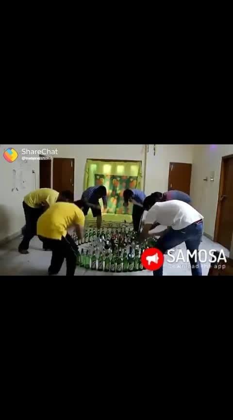 Bathukamma with beers