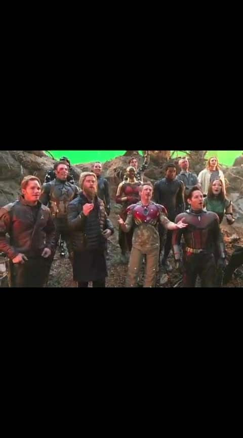 Avengers are here to wish u on your birthday #ropo-birthday  #celebration  #avengers4 If you like the video, like and follow me