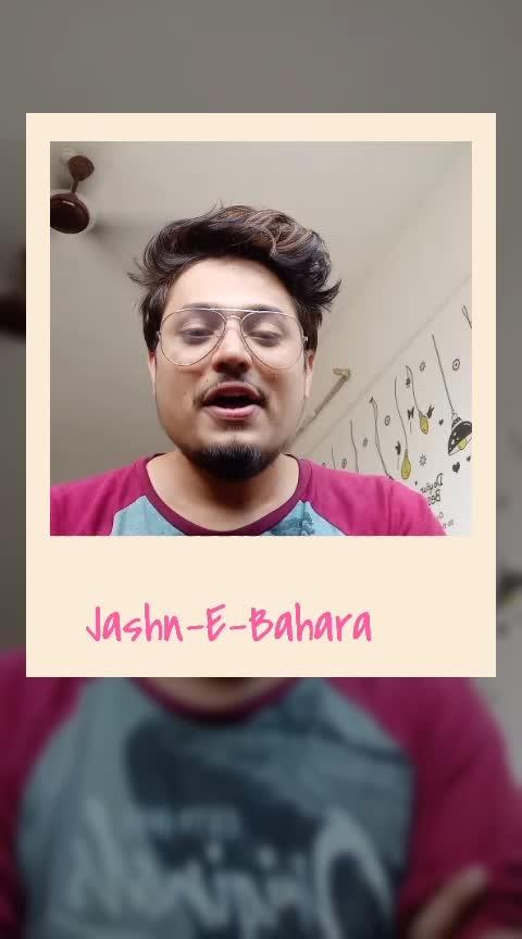 Jashn-E-Bahara 🎵 . . From movie #jodhaakbar sung by #javedali   composed by legend #arrahman . one of my favorite songs. Hope you  guys will like it too ♥ . . #krunalthakur #performer #artist #vocalist #singer #musicproducer #mumbai #javedali #aishwaryaraibachchan #hrithikroshan #arrehman #ropososinger #risingstar  #risingstaronroposo #roposorisingstar  #viralvideo #live #singinglove #roposo  . . For more such videos follow me on  :- @krunalthakur