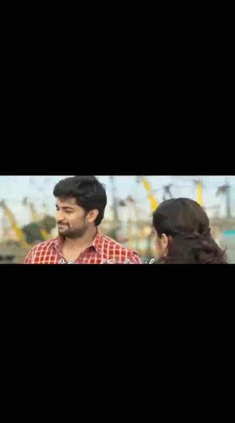 #nani #nivedathomas #ninnukori #lovescene #videoclip