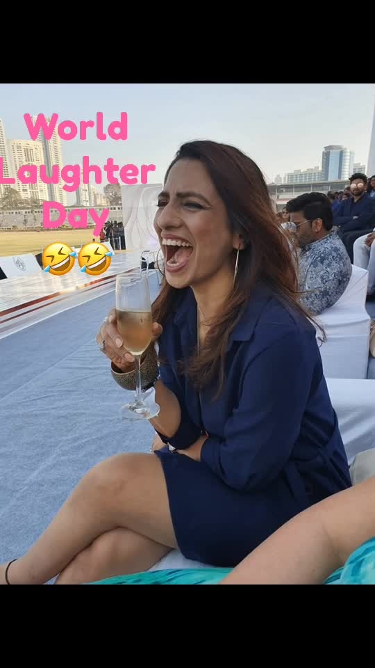 Keep smiling keep laughing keep adding years to your life n keep@your soul breathing ... #worldlaughterday #roposoers