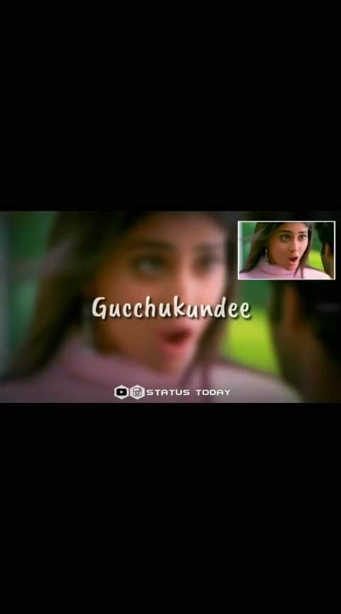 cute|| Gundi soodhi gundu soodhi...lyrics ❤|| 🔸Follow @status.today_ for more videos. ––––––––––––––––––––––––––––––––––––– ▪️Use earphones for better experience. ▪️Turn on post notifications for faster updates. ▪️Use fastsave app to download this video. ––––––––––––––––––––––––––––––––––––– #statustoday  #whatsappstatus #teluguwhatsappstatus  #instastory  #telugustatus  #prabhas #actorprabhas #lovestatus  #telugumovie  #chatrapathi #shriyasaran #statusforwhatsapp  #lovestatustelugu  #lovestatus  #breakupstatus  #statuswhatsapp  #video  #videostatus  #instavideo  #cutewhatsappstatus #whatsappstatuslove #lovewhatsappstatus  #music  #breakupwhatsappstatus  #telugusongs  #love  #telugustatus  #telugustatussongs  #telugubeats  #whatsappstatusforgirls #telugustatusvideo  #tollywood