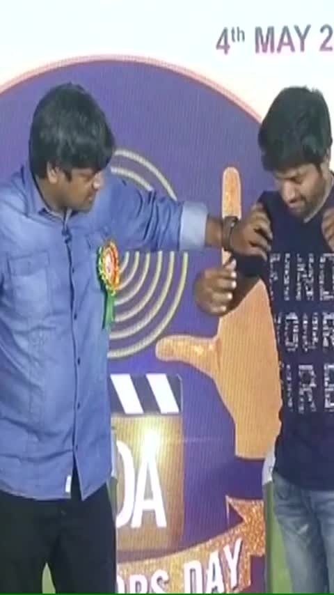 #HarishShankar and Anil Ravipudi Hilarious Skit In Front Of #chiranjeevi