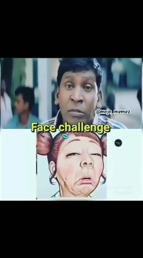 face challenge #vadivelu challenge😂