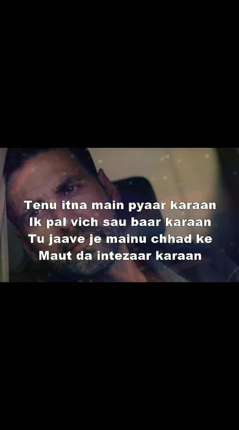 #tenu_itna_me_pyar_kara #like-it #likeroposo #punjabi-gabru #ropo-punjabi-beat