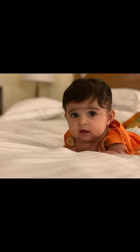 BABY YR #yash #radikapandith #daughter #cute #baby #kgf