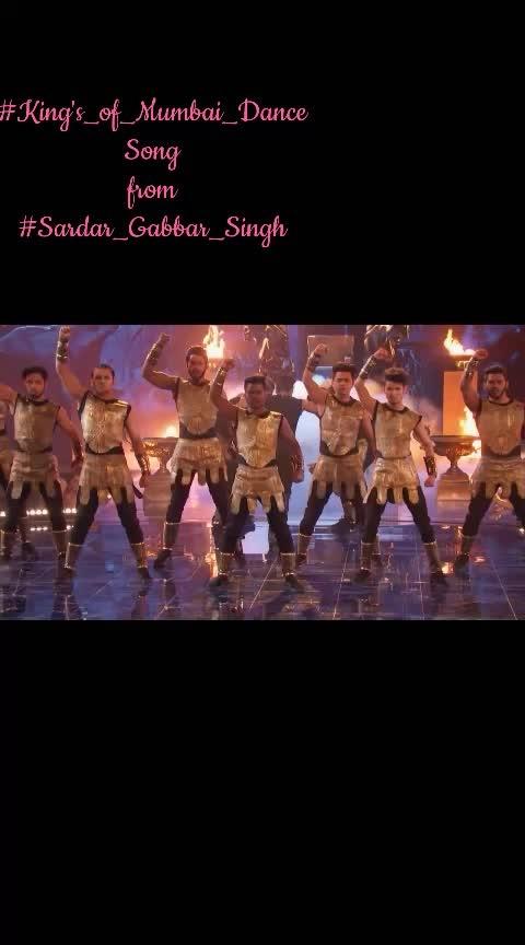 #King's_of_Mumbai_Dance Song  from  #Sardar_Gabbar_Singh