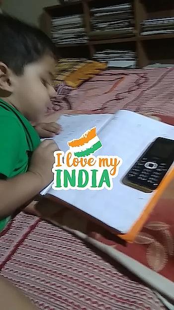 papa kaity hai bada nam krega #ilovemyindia