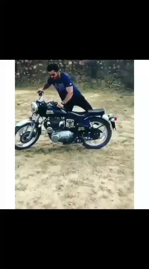 #Bullet😍😍 #Stunt